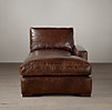 Maxwell Leather Right-Arm Chaise