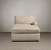 Belgian Slope Arm Upholstered Right-Arm Chaise