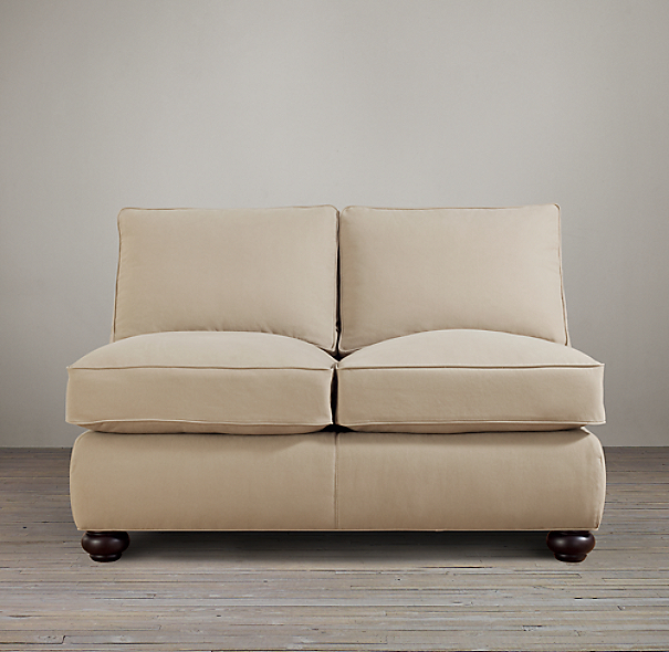 Lancaster Upholstered Armless Sofa
