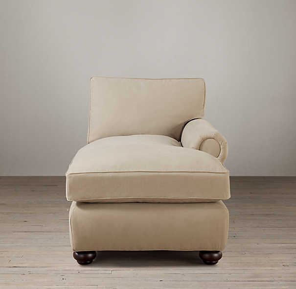 Lancaster Upholstered Right-Arm Chaise
