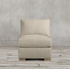 Maxwell Upholstered Armless Chair