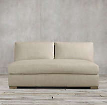 Maxwell Upholstered Armless Sofa