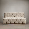 6' Soho Tufted Upholstered Armless Sofa