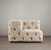 Soho Tufted Upholstered Corner Chair