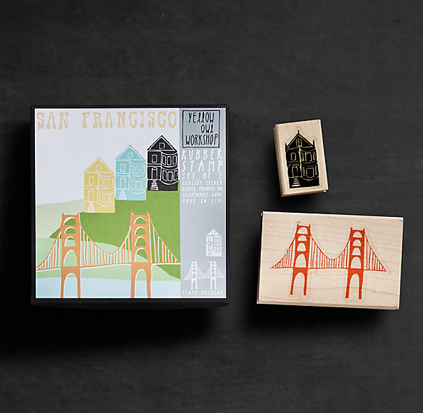 Stamp Set - San Francisco