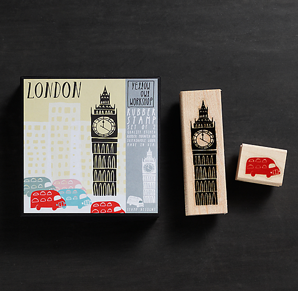 Stamp Set - London