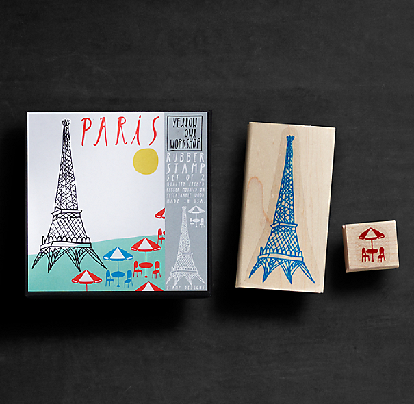 Stamp Set - Paris