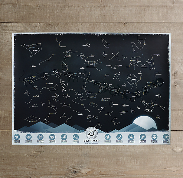 Mini Constellation Map