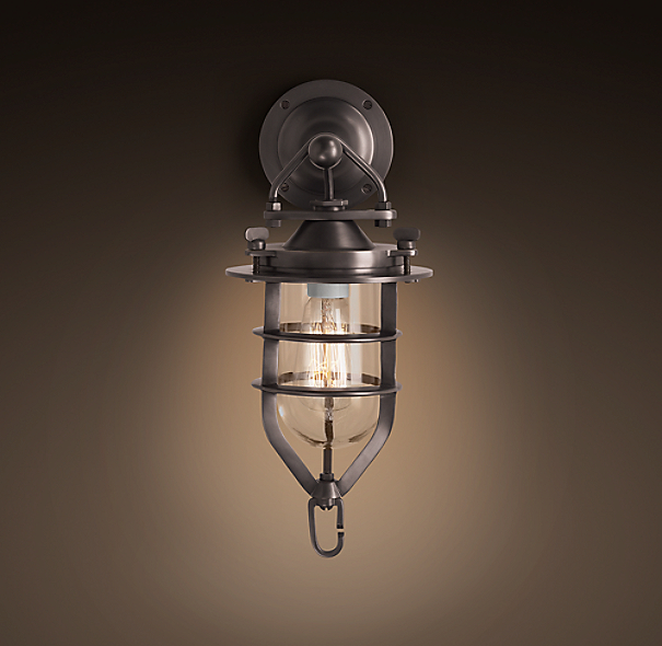 Convoy Sconce Small Bronze