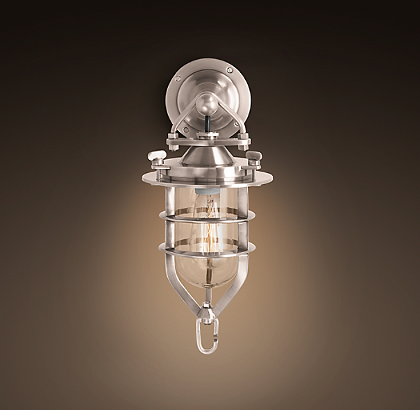 Nautical Convoy Small Sconce