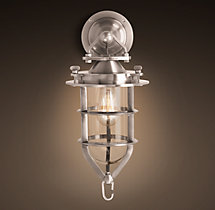 Convoy Sconce Antique Nickel
