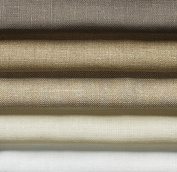 Heavyweight Textured Belgian Linen Drapery Swatch