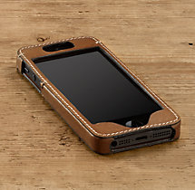 Artisan Leather iPhone® 5 Cover - Camel