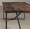 Salvaged Boatwood Dining Tables
