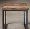 Salvaged Boatwood Side Table