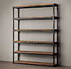 Salvaged Boatwood Bookcase