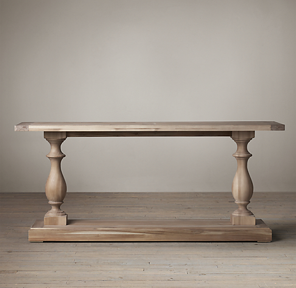 17th C Monastery Console Table