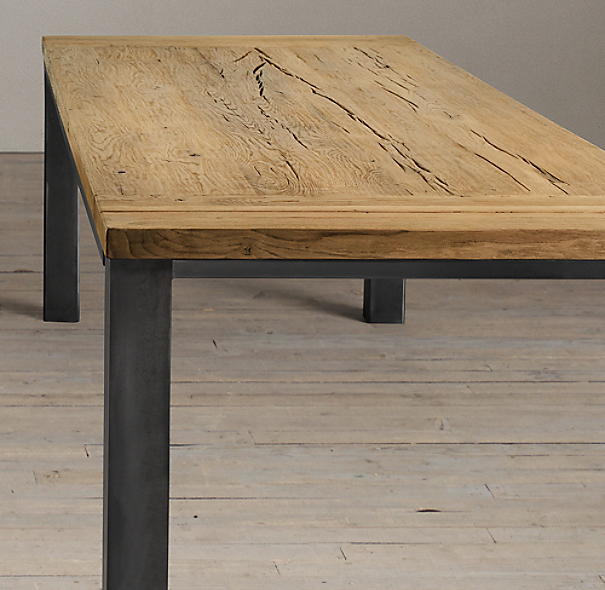 Reclaimed Russian Oak Burnham Dining Tables