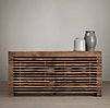 Reclaimed Timber Slat Sideboard