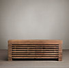 Reclaimed Timber Slat Media