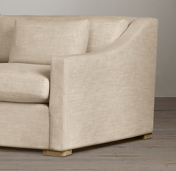 Belgian Classic Slope Arm Upholstered Sleeper Sofas