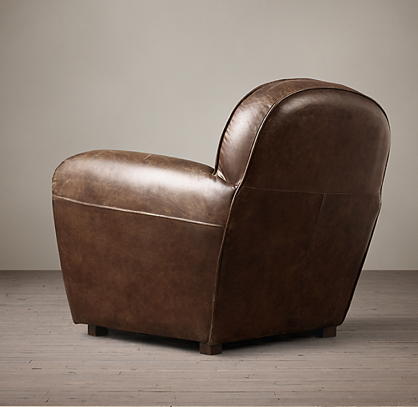 Duncan Leather Club Chair