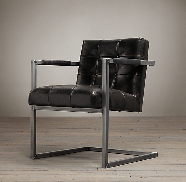 Milano Tufted Chair Onyx