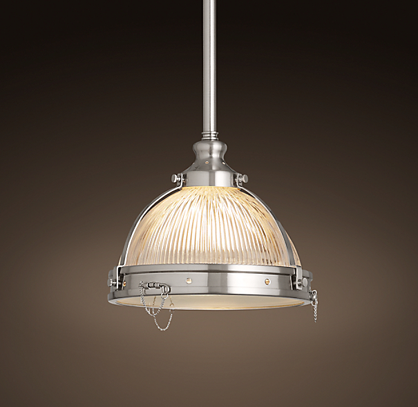 Clemson Pendant Satin Nickel