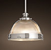 "Clemson Pendant 14"" Satin Nickel"