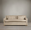 6' Belgian Classic Slope Arm Upholstered Sofa