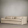 10' Belgian Classic Slope Arm Slipcovered Sofa
