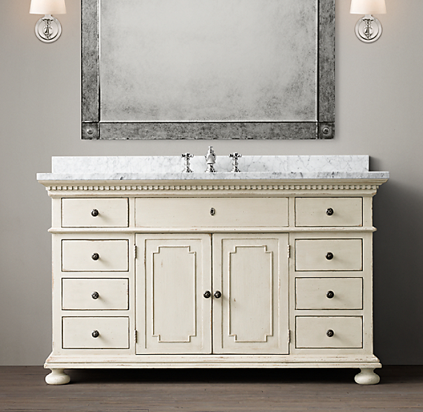 Popular Modifying Or Making A Vanity That Both Met My Storage Needs And Fit With The Midcentury Design Of The Bathroom Thus Began The Extensive Search For A Premade Vanity That Was Both Affordable Under $1,000 And Would Work In The