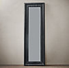 Baroque Weathered Zinc Leaner Mirror