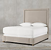 "Wallace Upholstered 68"" Bed With Nailheads"