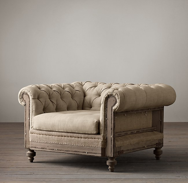 Deconstructed Chesterfield Chair