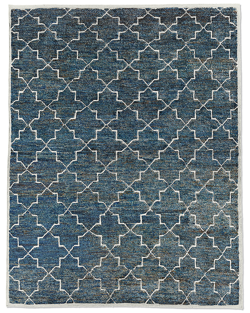 Restoration Hardware Moroccan Star Rug - Ocean | Fancy Friday - Dream Apartment Decorating