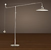 1940s Architect S Boom Floor Lamp Polished Nickel