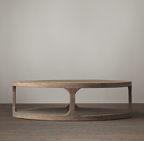 25 Best Collection Of Noguchi Coffee Table Dimensions: Martens Round Coffee Table