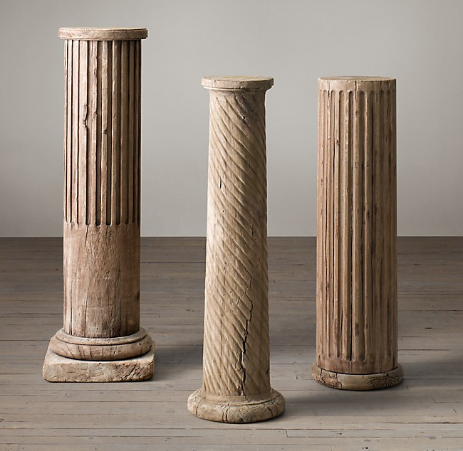 19th C Neoclassical Architectural Elements Column