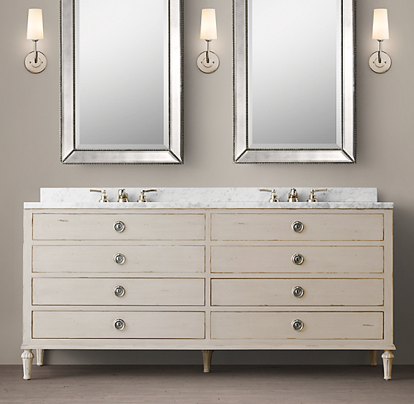 pre made vanities bathrooms that make a statement