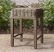 Provence No Back Counter Stool
