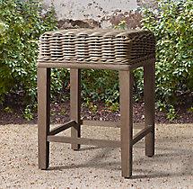 Provence No Back Barstool