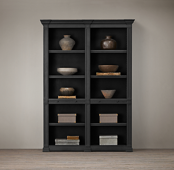 Atkins Double Low Bookshelf