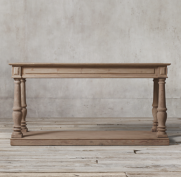 Distressed Rectory Consoles Small