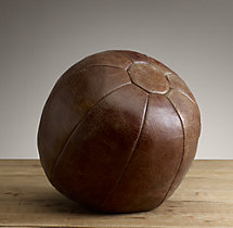 Vintage Leather Training Ball