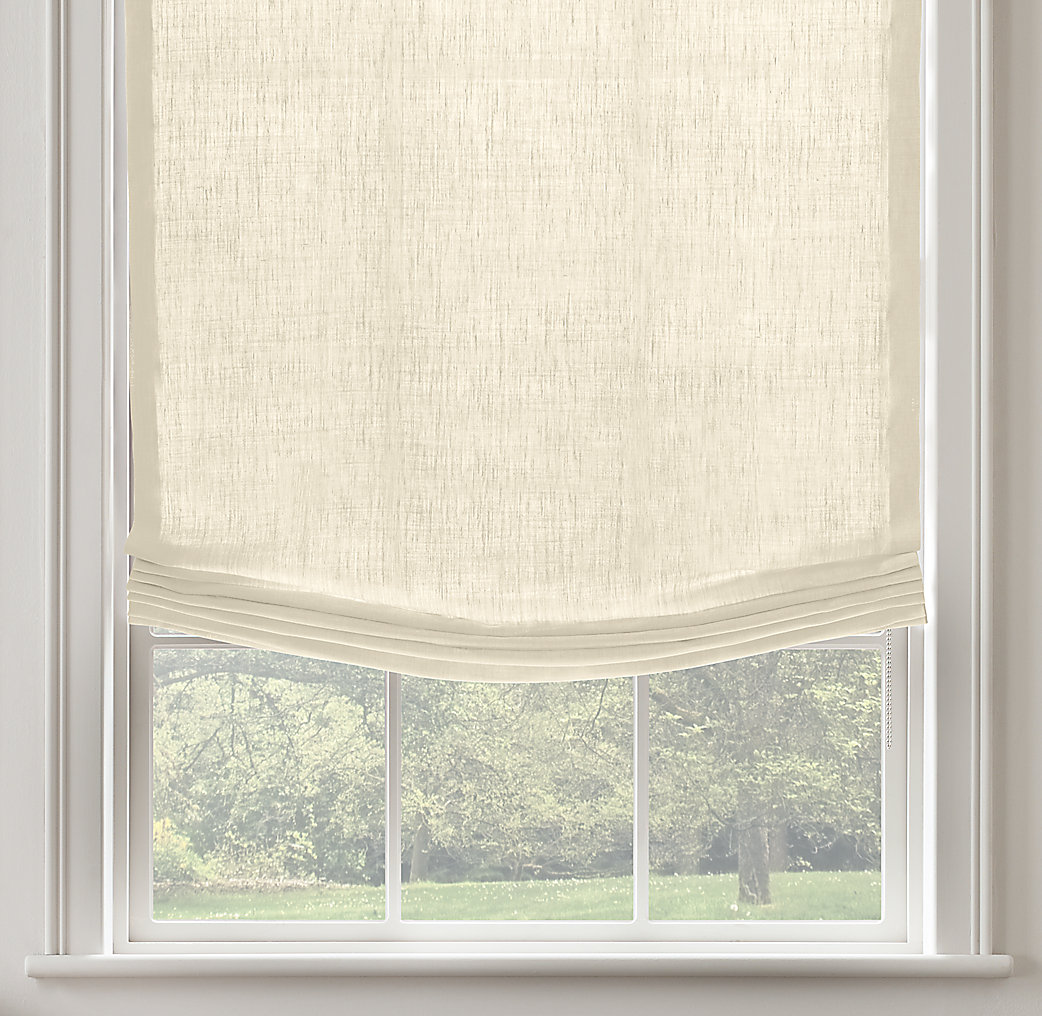 Linen Roman Shades 2017 Grasscloth Wallpaper