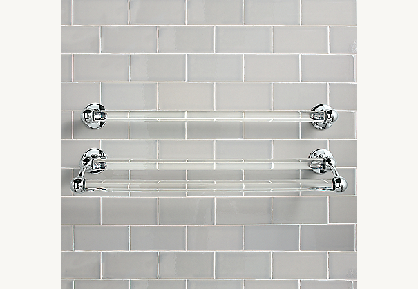 Vintage Double Towel Bar