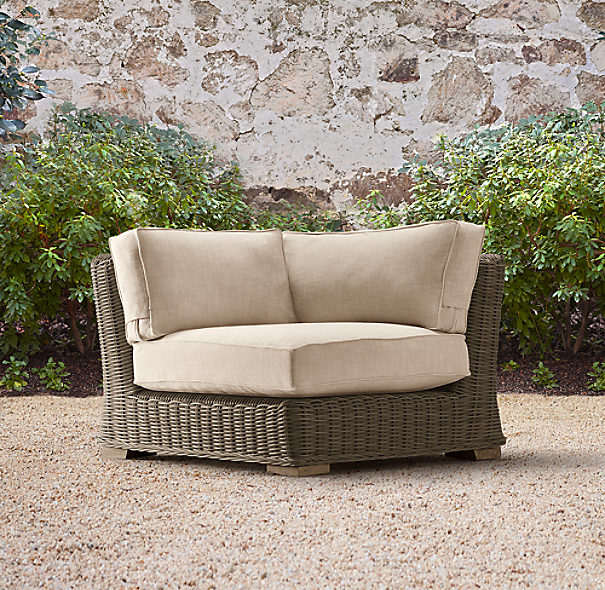 Provence Classic Corner Chair Cushion
