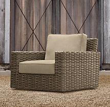 Antigua Swivel Lounge Chair Cushions