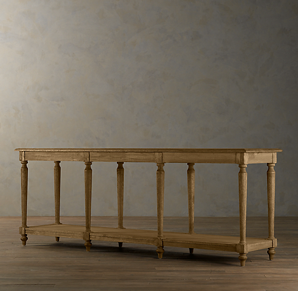 French Colonnade Console Tables